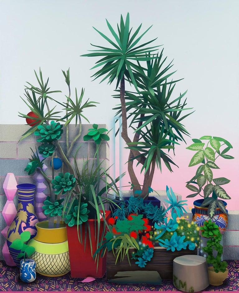 Robert Minervini Still-Life Painting - Wild Garden