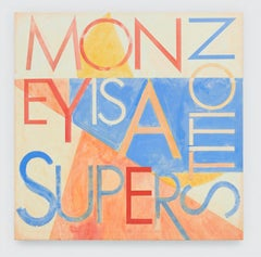 Mantra Painting (Money Is A Superstition)