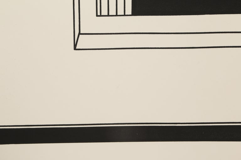 Artist: Robert Morris, American (1931 - 2018) Portfolio: In the Realm of the Carceral Title: The Hot and Cold Pools of Persuasion Year: 1979 Medium: Etching and Aquatint, signed and numbered in pencil Edition: 38/150 Paper Size: 48 x 37