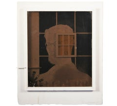 """Assemblage #9"" Artist Self Portrait"