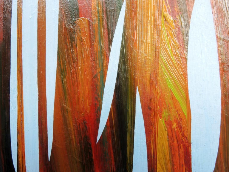 Reed 22 November 09:54 - Modern Nature Oil Painting, Abstract, Minimalism For Sale 1
