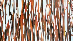 Reed 22 November 09:54 - Modern Nature Oil Painting, Abstract, Minimalism