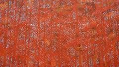 Trees 19 October 11:12 - Modern Nature Painting, Landscape, Forest, Contemplativ