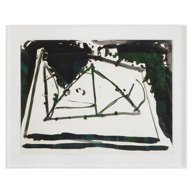 Robert Motherwell, Drunk with Turpentine No. 21 For Sale