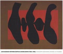 2020 After Robert Motherwell 'La Danse II' Modernism Spain Offset Lithograph