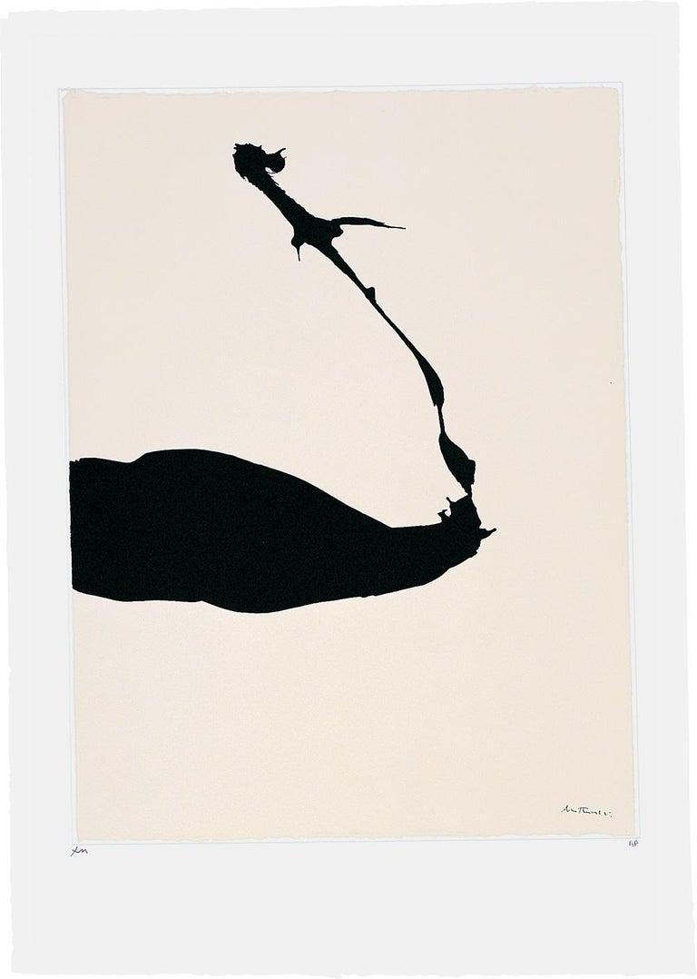 Robert Motherwell Abstract Print - Africa Suite: Africa 6