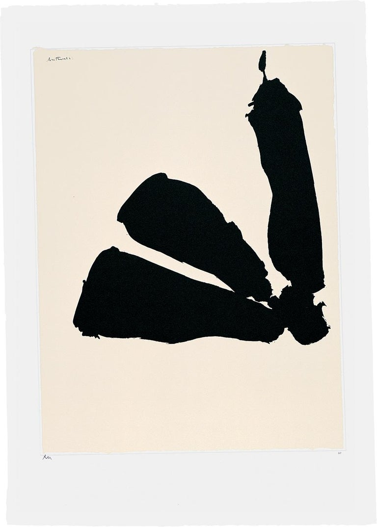 Robert Motherwell Abstract Print - Africa Suite: Africa 8