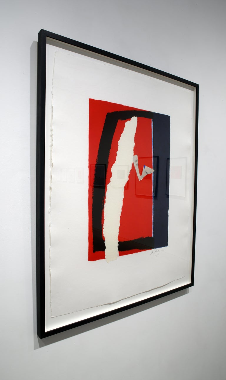 Game of Chance - Abstract Expressionist Print by Robert Motherwell