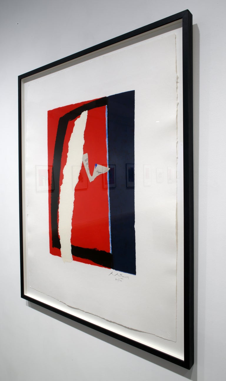 Game of Chance - Gray Print by Robert Motherwell