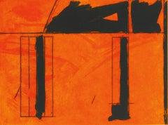 La Casa de la Mancha, Robert Motherwell Etching and Aquatint