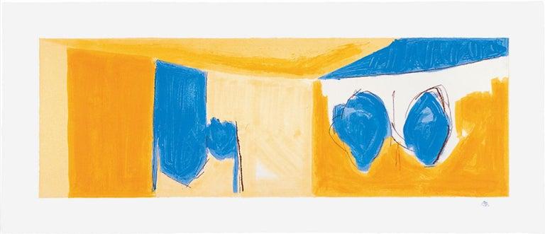 Robert Motherwell Abstract Print - Mediterranean Light