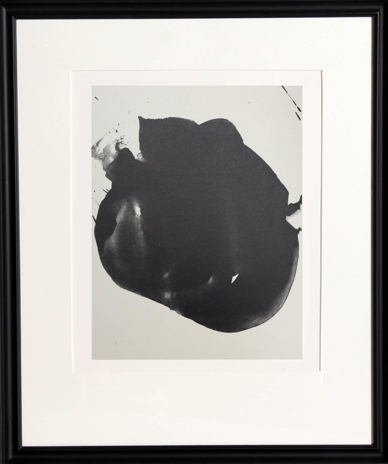 Robert Motherwell Abstract Print - No. 2 from Three Poems