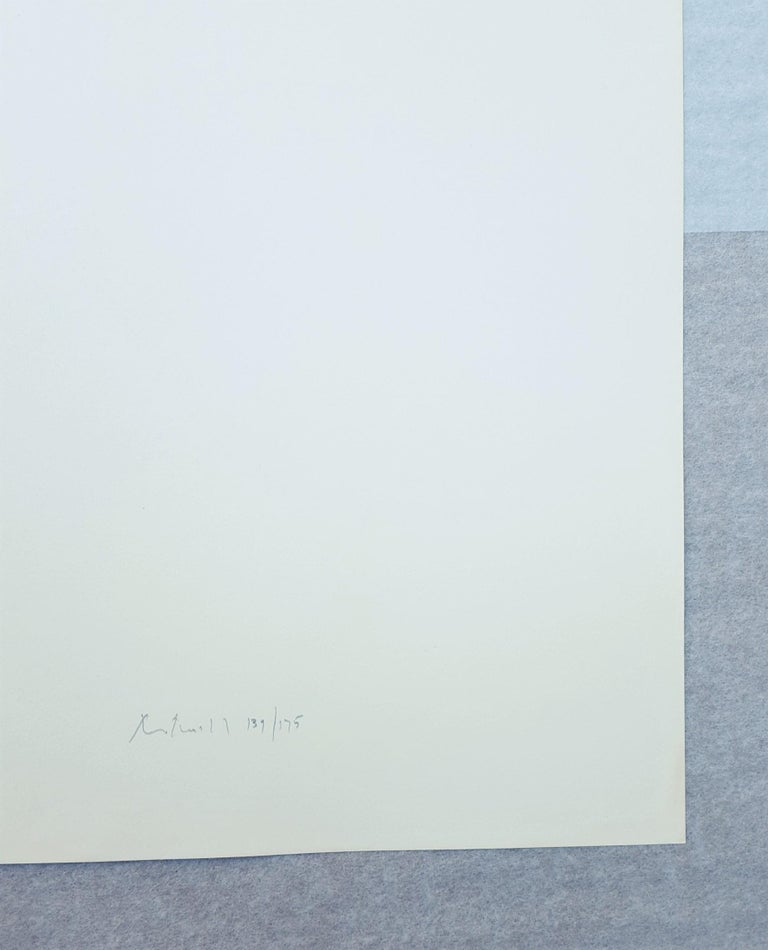 An original signed screenprint on Rives BFK paper by American artist Robert Motherwell (1915-1991) titled