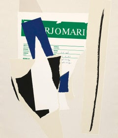 "Robert Motherwell ""American La-France Variations IX"" Lithograph, 1984"