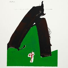 "Robert Motherwell ""Basque Suite No. 13"" Screenprint, 1976"