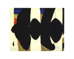 "Robert Motherwell-Elegy to the Spanish Republic No. 34-16"" x 20""-Serigraph-1991"