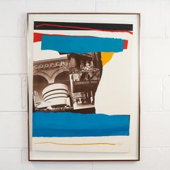 """Robert Motherwell """"NYC Cultural Institutions"""""""