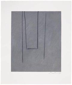 Slate Gray Pintura, Robert Motherwell