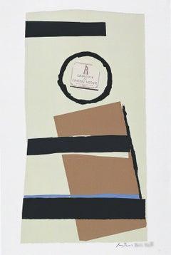 """Summer Light Series: Pauillac, #1"" Robert Motherwell Limited Edition Print"