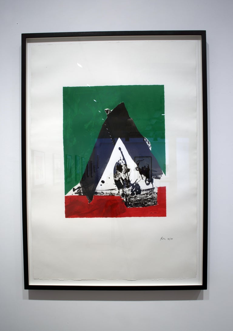 The Basque Suite: Untitled - Print by Robert Motherwell