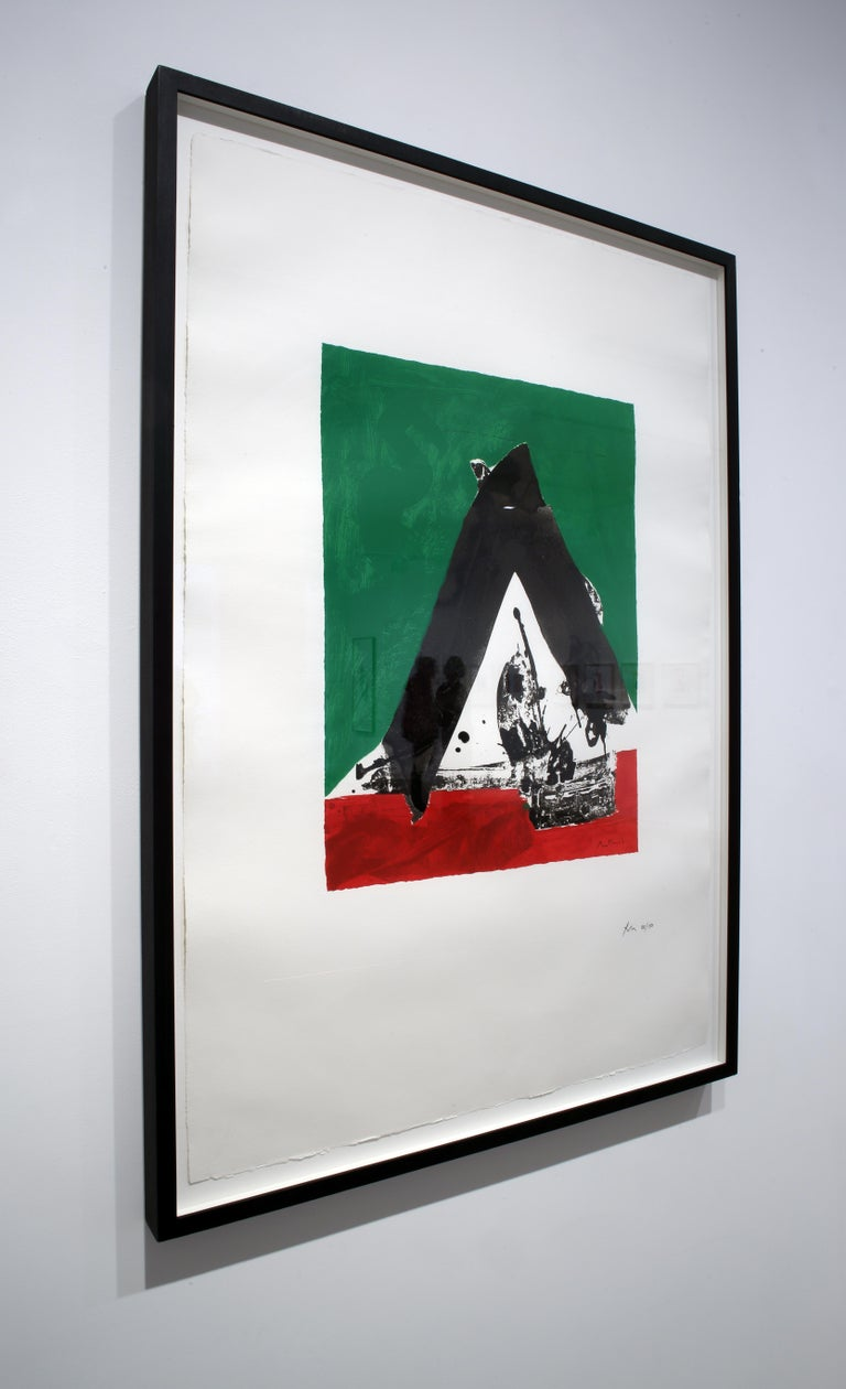 The Basque Suite: Untitled - Abstract Expressionist Print by Robert Motherwell