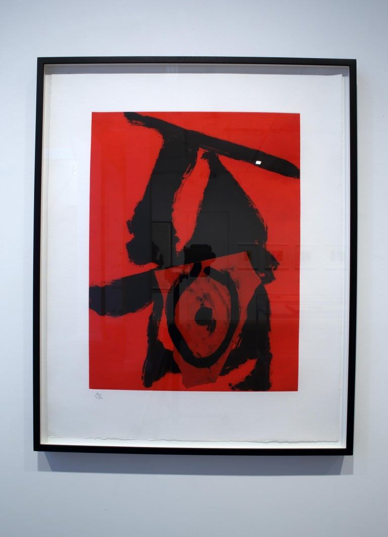 The Red Queen - Print by Robert Motherwell