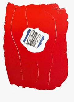 Tricolor, Limited Edition Lithograph, Robert Motherwell