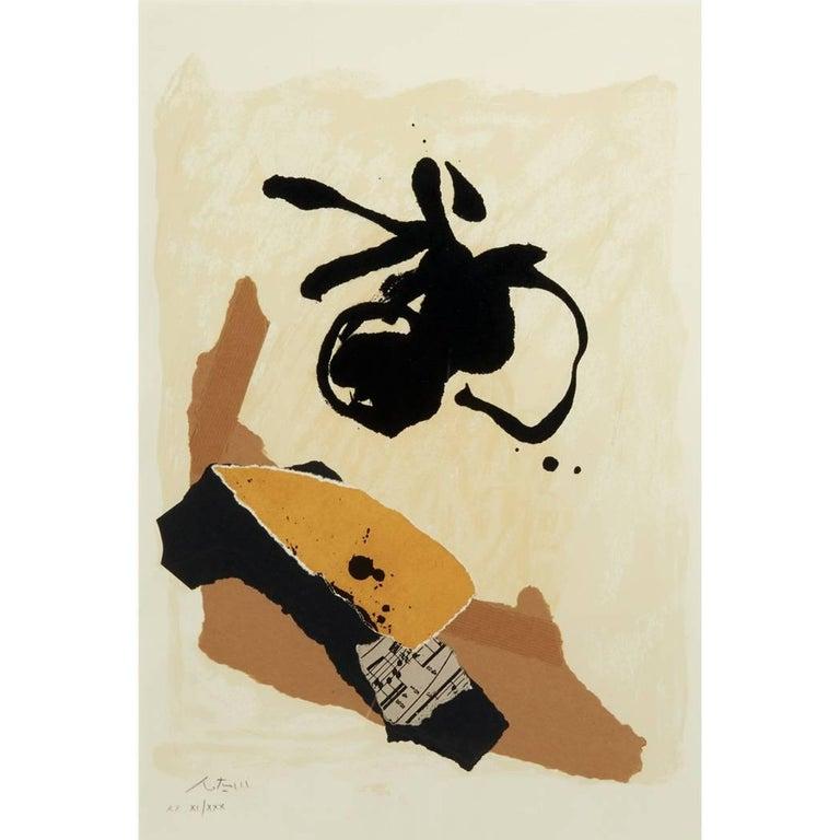 Robert Motherwell Print - Untitled