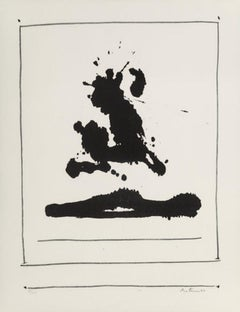 'Untitled, from New York International' Limited Edition Signed Abstract Print