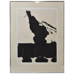 Robert Motherwell Signed Lithograph 92/150 Africa II