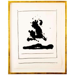 Robert Motherwell, Untitled Lithograph on Arches Paper