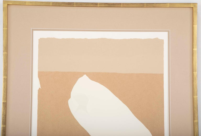 Modern Robert Motherwell, Untitled Serigraph For Sale