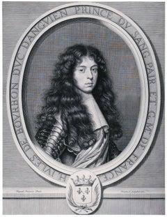 Henri-Jules de Bourbon, Duc d'Enghien (1st State)