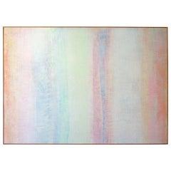 Robert Natkin Abstract Acrylic on Canvas Painting, Bath Apollo Series