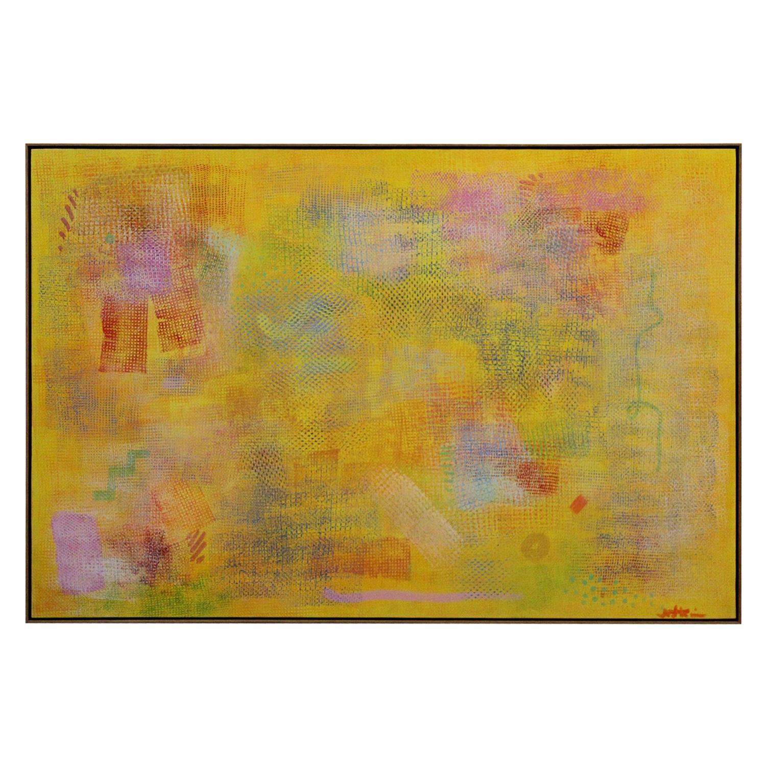 Robert Natkin Painting, 1970s