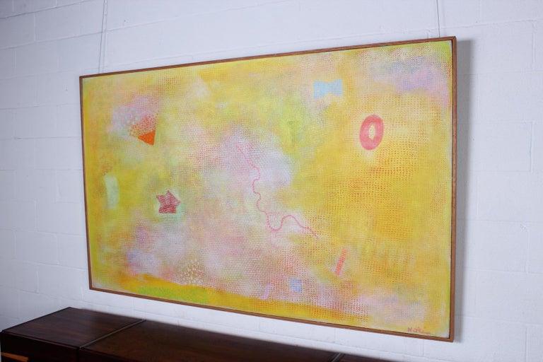 Robert Natkin Painting, Morning Smile, 1976 For Sale 5