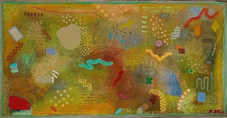 Robert Natkin Abstract Painting - Iago March #1