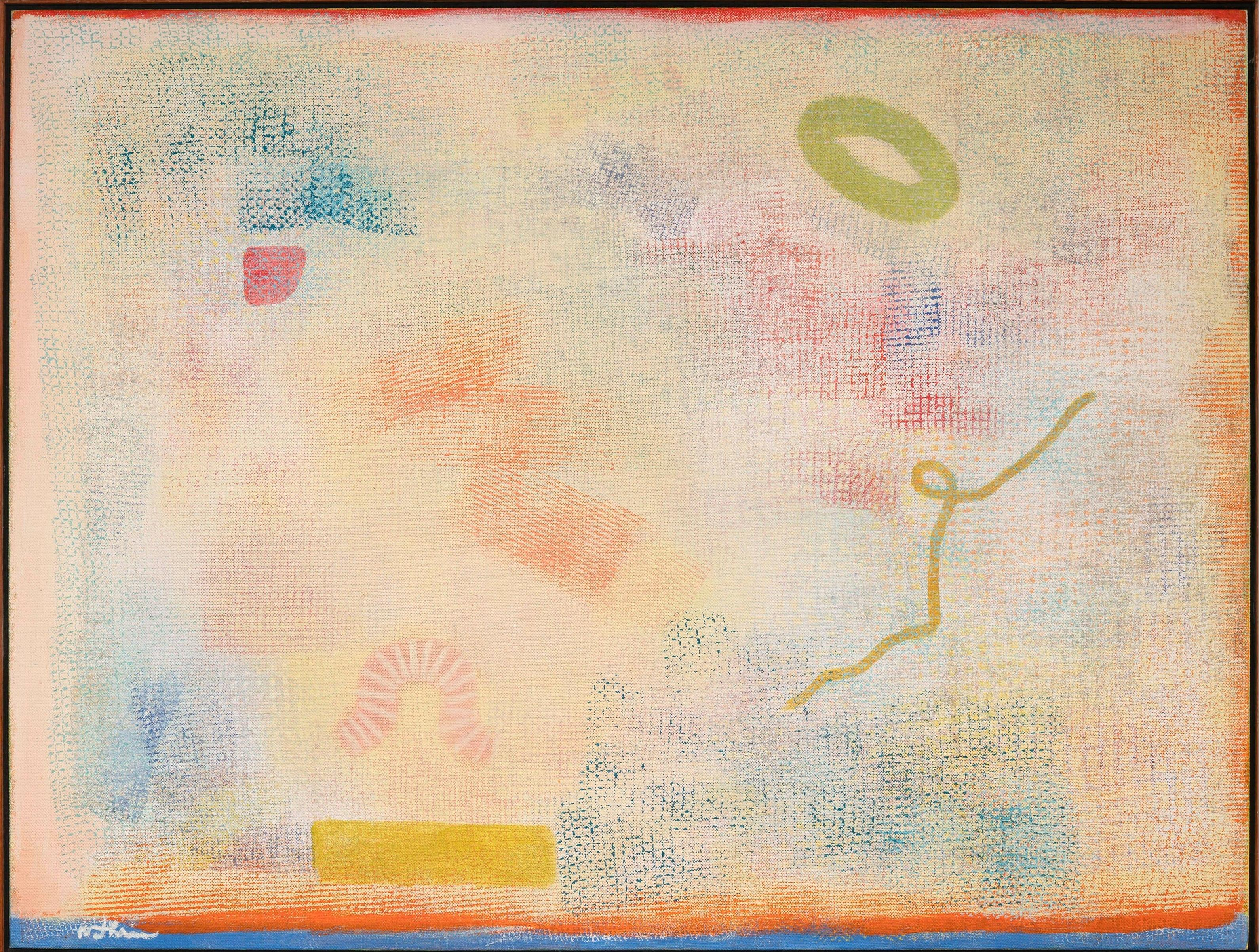 """""""Intimate Lighting Series,"""" Robert Natkin Abstract Expressionist Lyrical Color"""