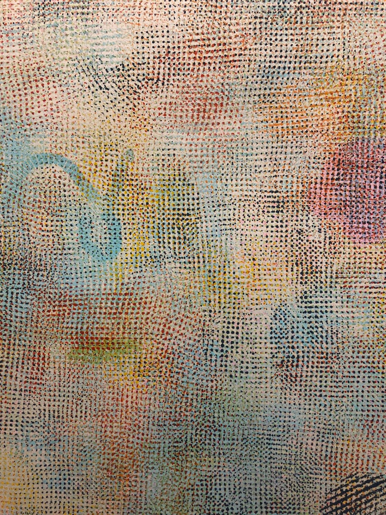 Large Natkin Abstract Expressionist Colorful Silkscreen Screenprint Lithograph For Sale 7