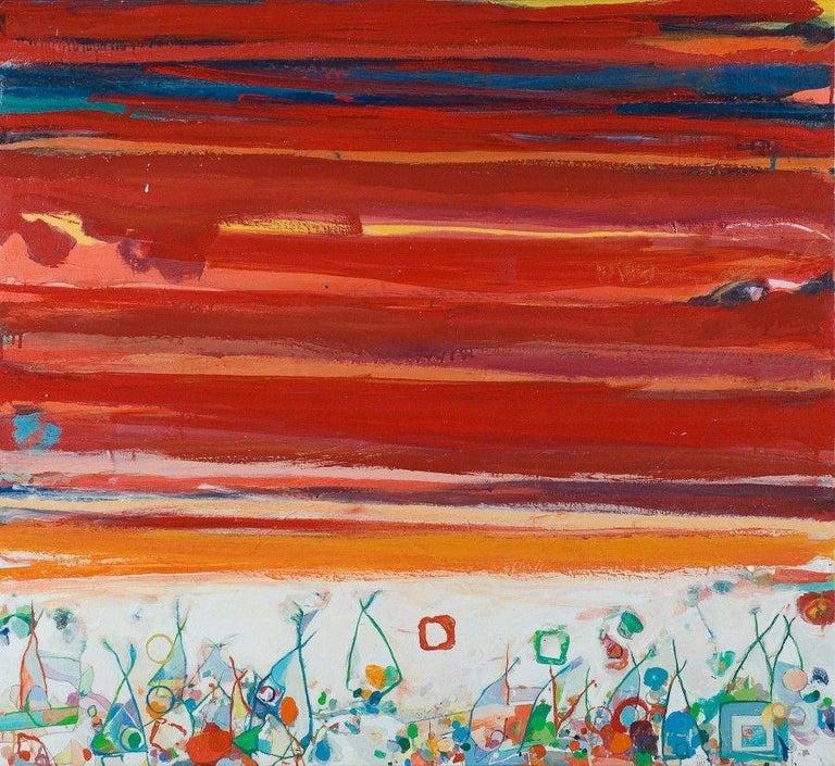 Robert Neuman Abstract Painting - Lame Deer (Medicine Tail)