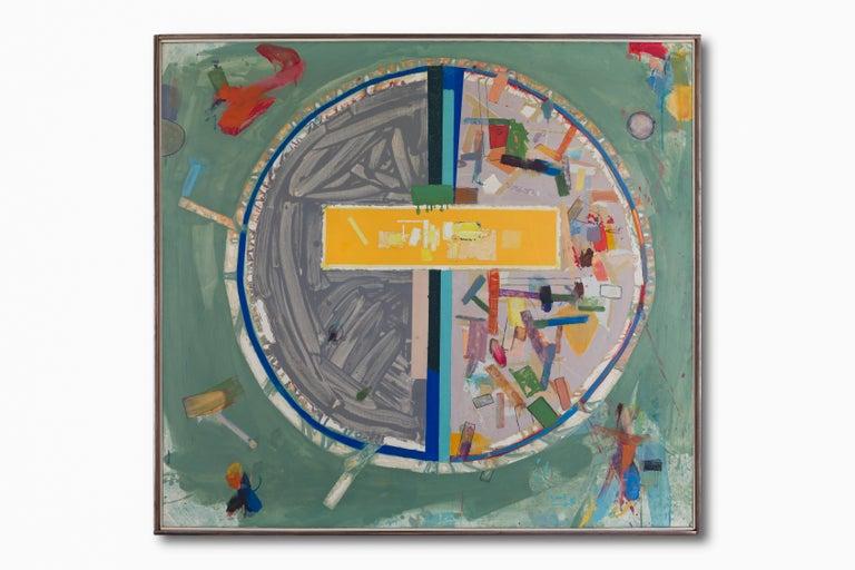Pedazos del Mundo #17 - Painting by Robert Neuman
