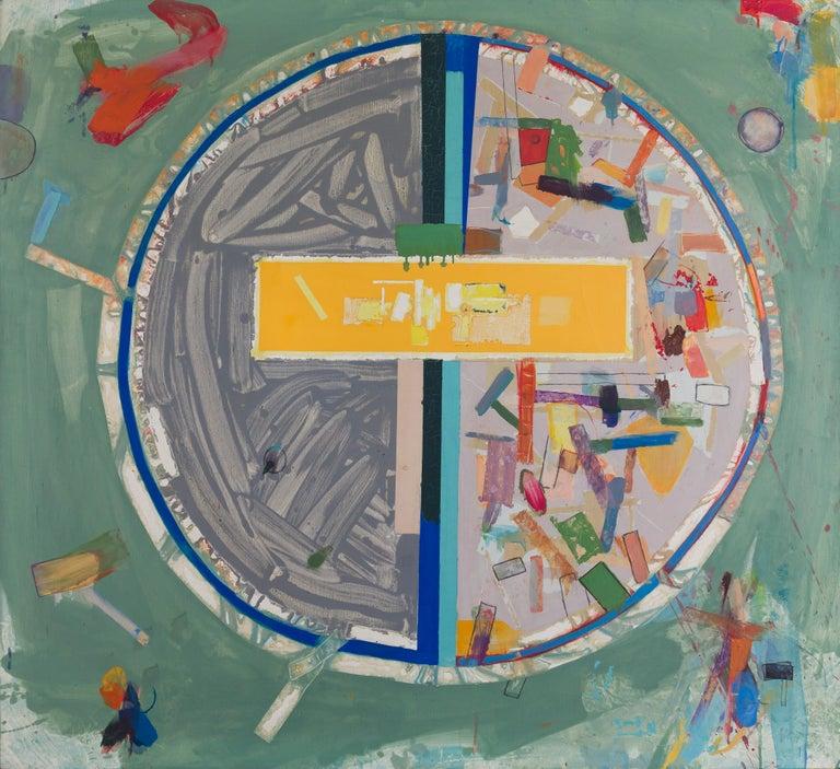 Robert Neuman Abstract Painting - Pedazos del Mundo #17