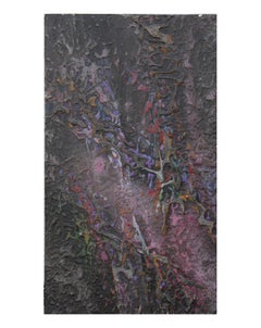 """""""Might Lines"""" Textured Abstract Expressionist Painting"""
