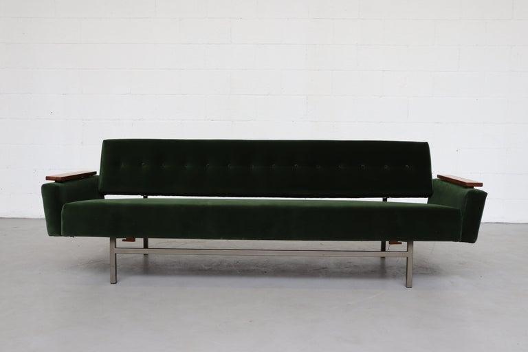 Mid-Century Modern Robert Parry Attributed Mid-Century Sleeper Sofa For Sale