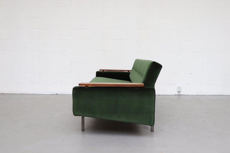 Dutch Robert Parry Attributed Mid-Century Sleeper Sofa For Sale