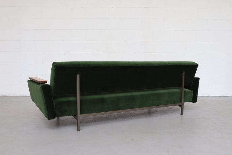 Robert Parry Attributed Mid-Century Sleeper Sofa In Good Condition For Sale In Los Angeles, CA