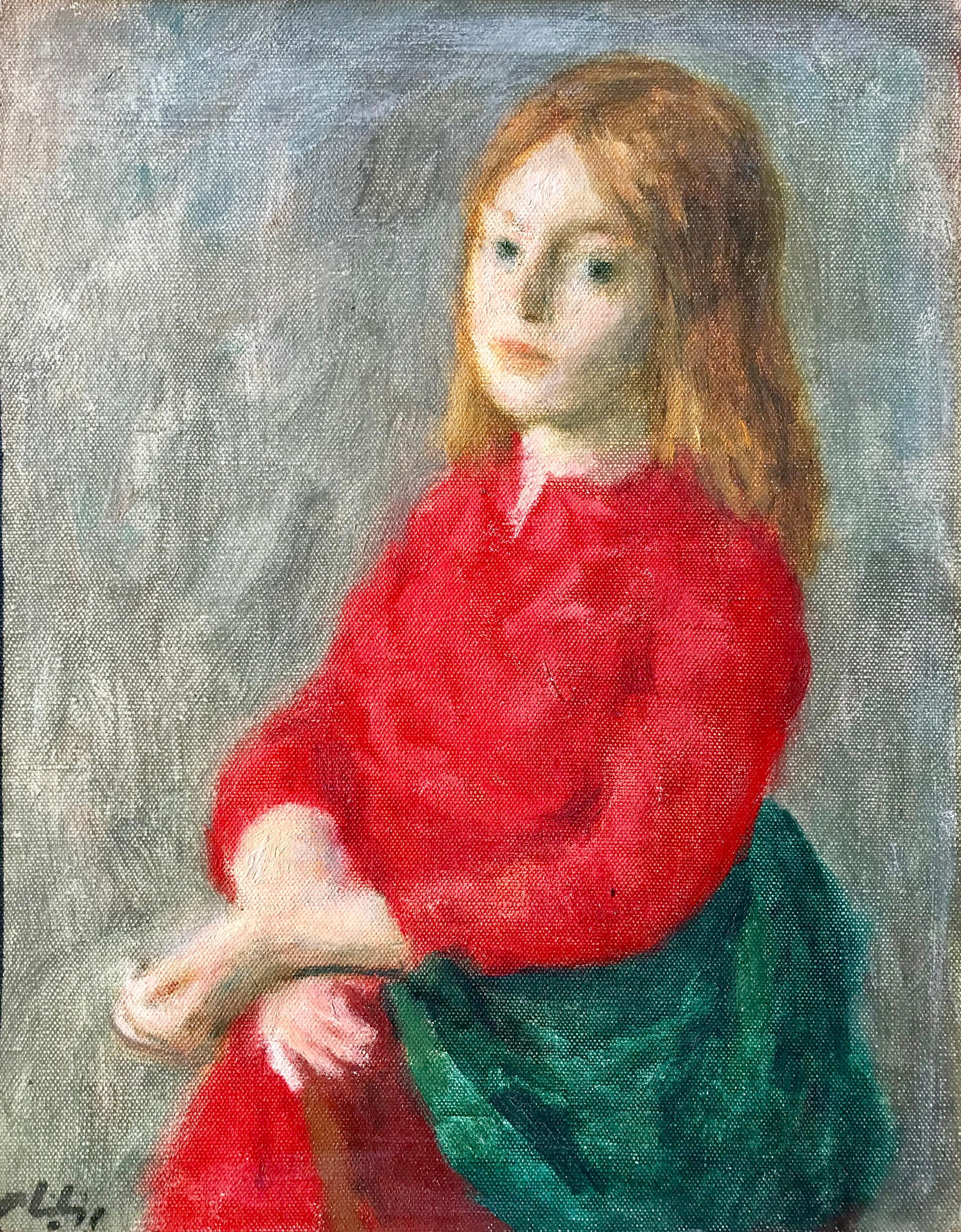 """""""Girl in Red Dress"""""""