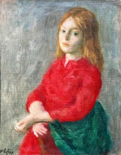 """Girl in Red Dress"""