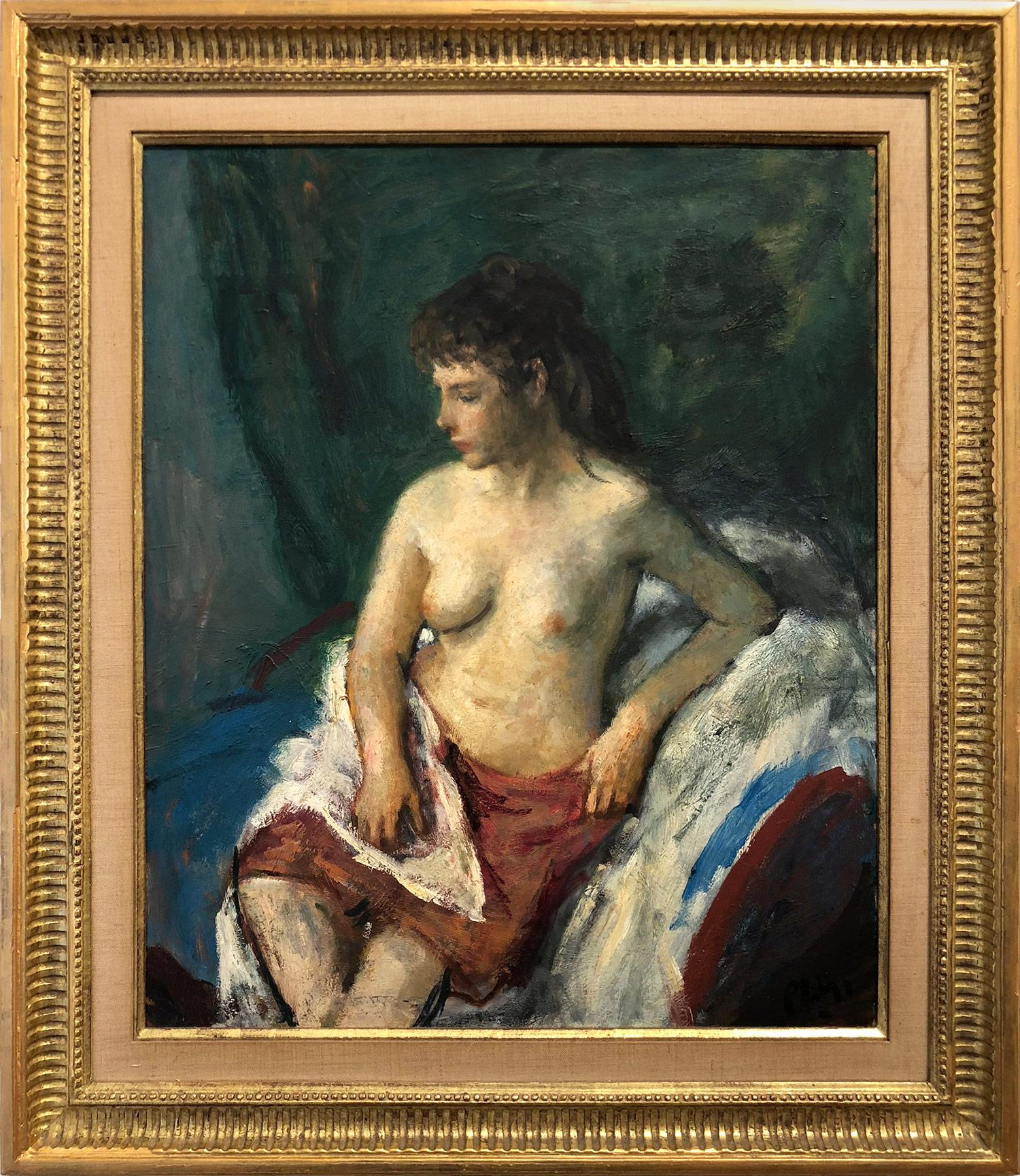 Portrait of a Nude Woman