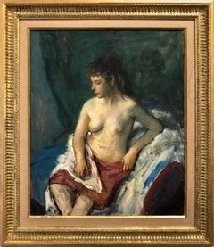 Portrait of a Nude Woman